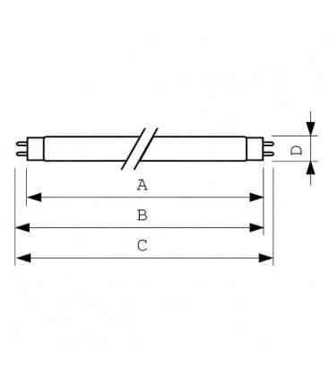 Actinic BL TL-d 10W-10 uv-a G13