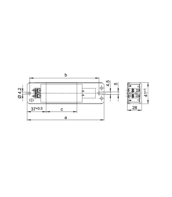 ballast ln58116 230v 50hz t u ballast ln58 116 230v 50hz 508186 5081869089998 en vossloh schwabe ballast wiring diagram at webbmarketing.co