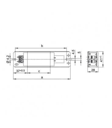 Ballast L25.346 230V 50HZ T12