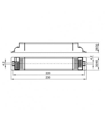 ELXc 236.247 2x36W T8