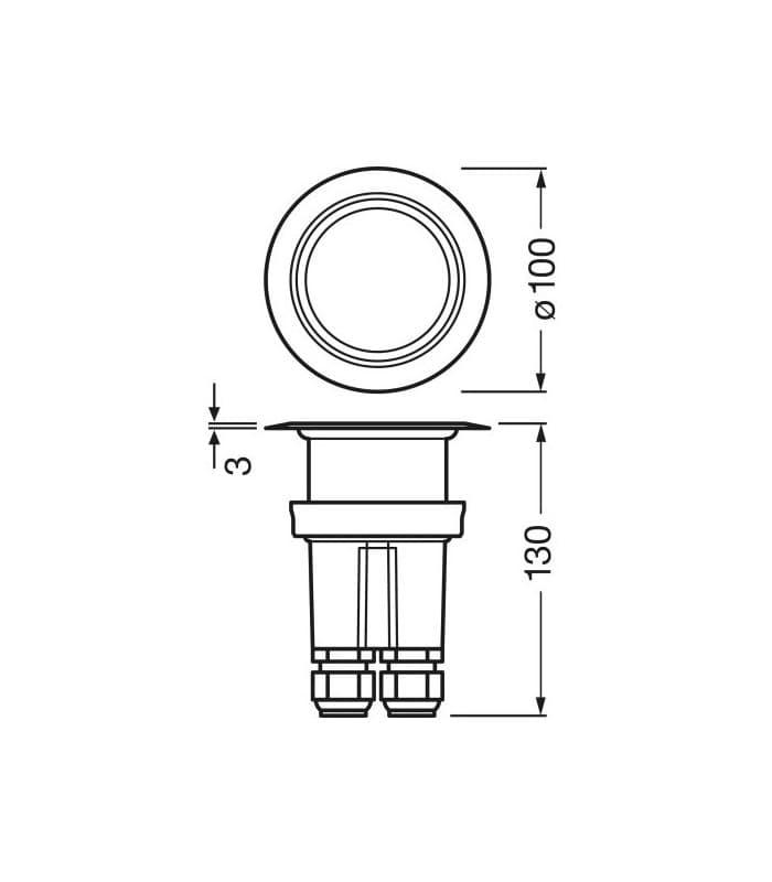 Osram aqualed 2 m 24v 840 ip67 aqualed2 m 24v for Apparecchi di illuminazione per bungalow