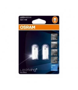 LEDriving Premium 2850BL 1W 12V W5W 6800K - Paquet double