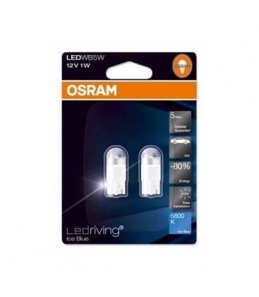 LEDriving Premium 2850BL 1W 12V W5W 6800K - Double Pack