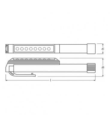 LEDinspect Penlight LEDIL303 7000K