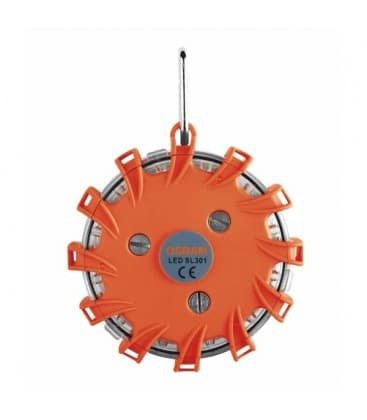 LEDguardian Warnleuchte SL302 6000K Weiss/Orange