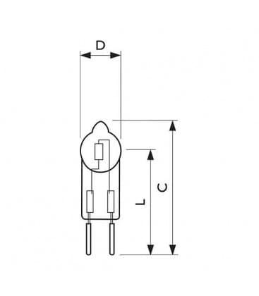MASTERCapsule 18160 12V  20W IR GY6.35