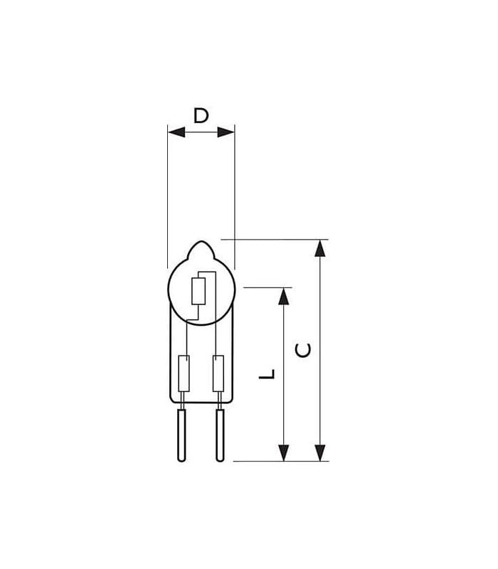 Philips MASTERCapsule GY6.35 12V IR Coated 60W