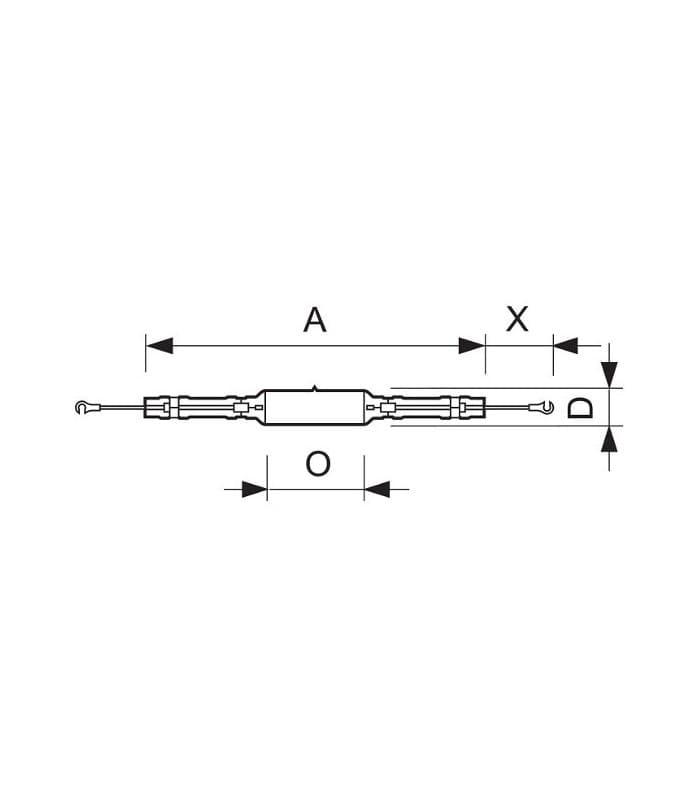 Philips Master MHN-LA 2000W-956 400V XWH X528 928072505130