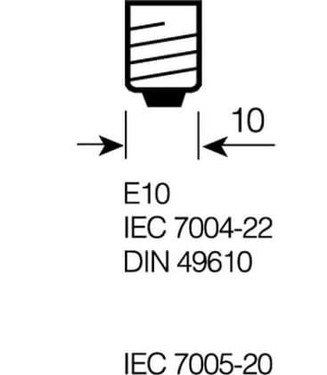 3450  6-7V 2W E10