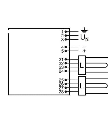 QTi T-e 2x18-42W 230-240V DIM Cfl Quicktronic intelligent