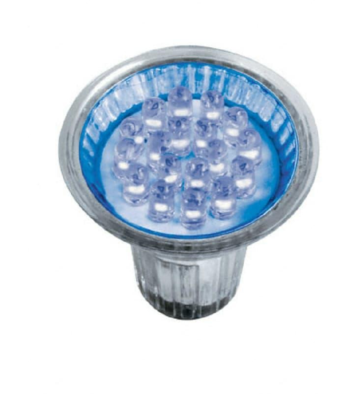 osram led decospot par16 bl 240v 1w gu10 blue led decospot 1 bl gu10 4008321905581. Black Bedroom Furniture Sets. Home Design Ideas