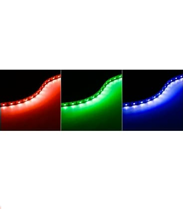 LED strips 12V 5050 7,2W/m IP20 RGB