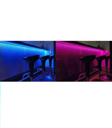 LED strips 12V 5050 7,2W/m IP68  waterproof RGB