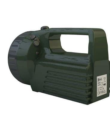 Rechargeable halogen flashlight EXPERT 3810