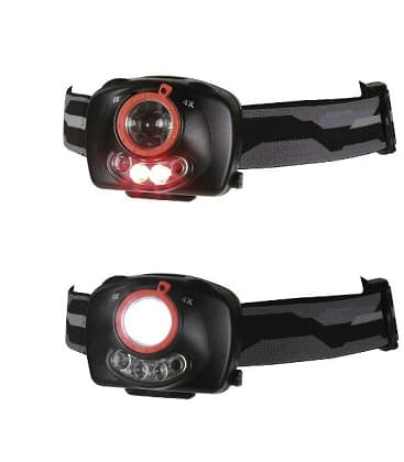 Headlamp 1W XP-C CREE (Q4) LED + IR+ Focus