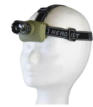 Headlamp LED 3W CREE 3xAAA+ zoom