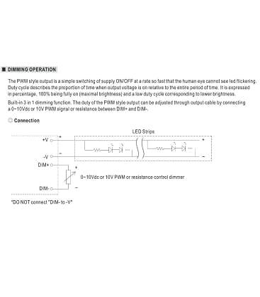 PWM-90-24, 24V / 90W / IP67