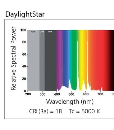 Daylightstar T8 F30W 5000K G13
