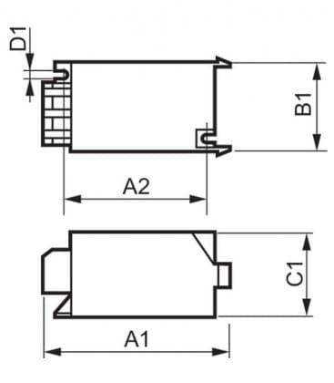 SN D 57 50-70W 220-240V 50-60Hz Zundgerat