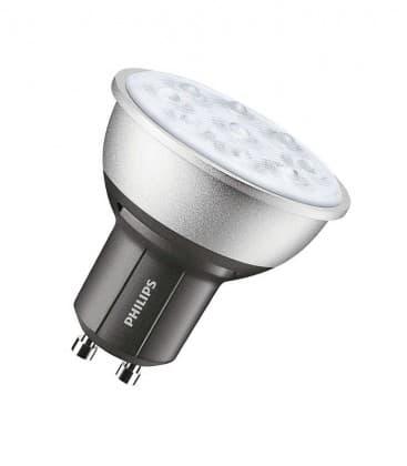 Master LEDspotMV DimTone 4.5-50W WW 230V GU10 25D Dimmable