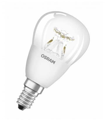 LED Superstar Classic P 40 6W-827 220-240V E14 Dimmerabile