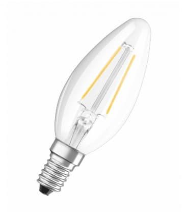 LED Retrofit Classic B 37 4W-827 230V FIL E14