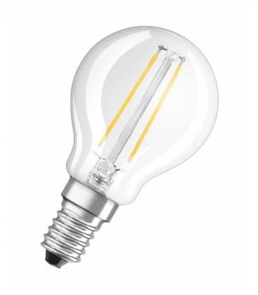 LED Retrofit Classic P 23 2W-827 230V FIL E14
