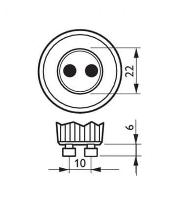Master LEDspotMV VLE 3.5-35W 840 230V GU10 25D Dimmerabile