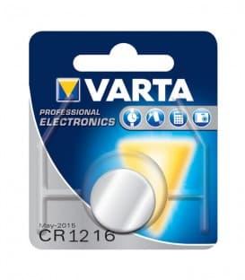 Več o CR1216 Litij 3V 25mAh 6216