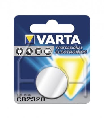 CR2320 Lithium 3V 135mAh 6320 06320101401 4008496270835