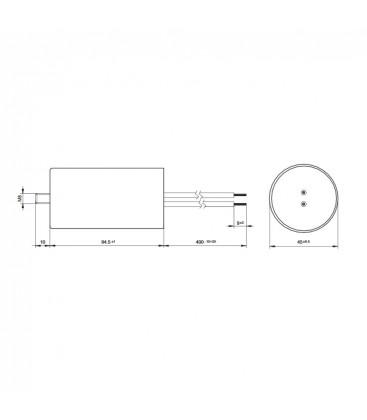 VS Condensateur 25mF 50/60Hz 250V 40955