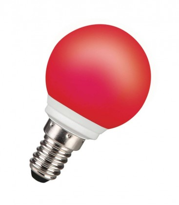 ToLEDo Outdoor Ball 220-240V 0.5W E14 IP44 Rouge
