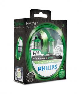 ColorVision H4 12V 60/55W P43t-38 Green - Double pack