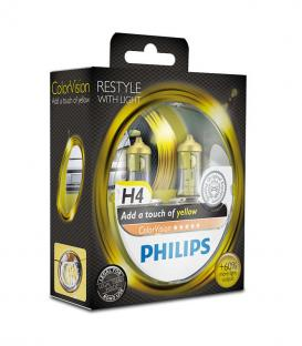ColorVision H4 12V 60/55W P43t-38 Yellow - Double pack
