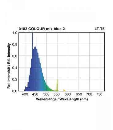 T5 LT 28W-182 G5 COLOUR mix Bleu