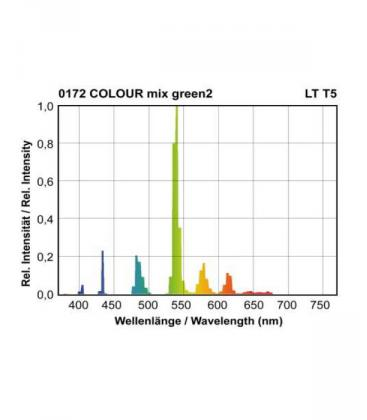 T5 LT 39W-172 G5 COLOUR mix Zelena