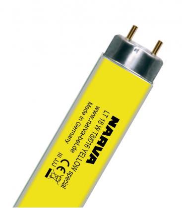 T8 LT 18W-016 G13 COLOUR Gelb