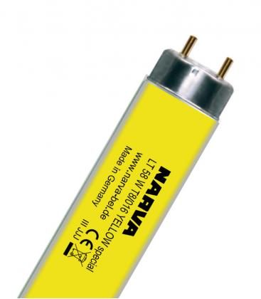 T8 LT 58W-016 G13 COLOUR Giallo