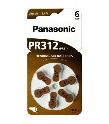 PR312 1.4V 170mAh Batteries pour appareils auditifs