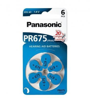 PR675 1.4V 605mAh Batterie per apparecchi acustici