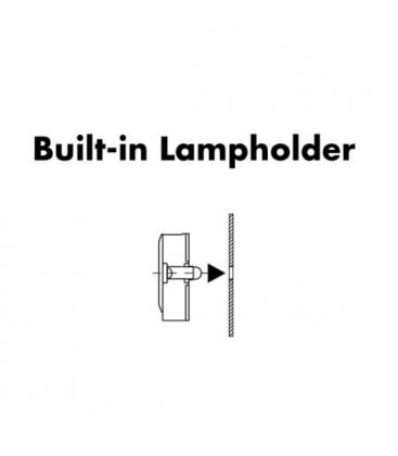 Lampholder, Base G13 Rotoclic built-in lampholder 59506