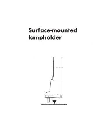 Lampholder, Base G24d-3 TC-d TC-t