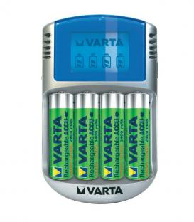 LCD Cargador 2400mAh con USB carga y adaptador 12V