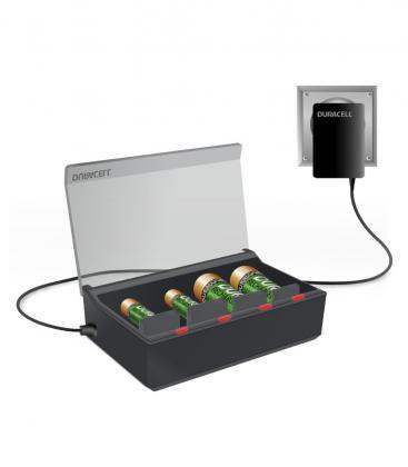 Haute vitesse - Multi chargeur CEF22 pour piles AA, AAA, C, D et 9V