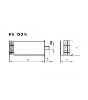 PU 120 K Commutateur de puissance électronique