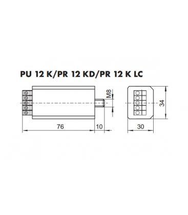 PR 12 K LC Commutateur de puissance électronique