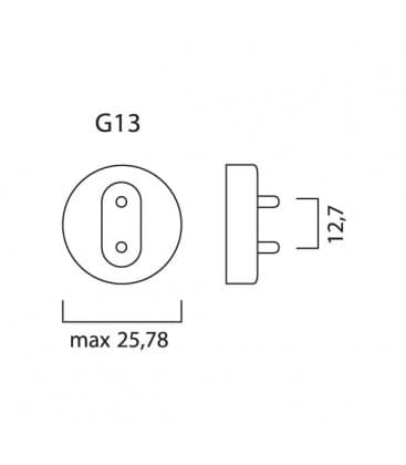 T8 F36W-865 G13 Luxline plus