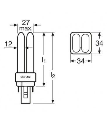 TC-d Dulux D 26W-827