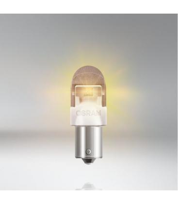 LEDriving Premium Amber 7557YE 2W 12V PY21W BAU15s - Double Pack