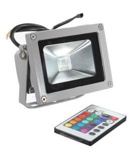 LED reflector 10W (100W) IP65 RGB con control remoto